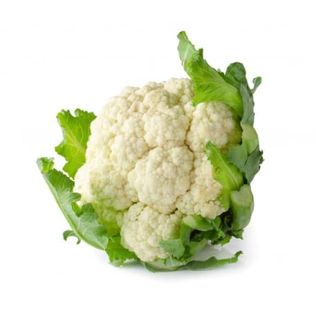 a picture of a cauliflower on a white background